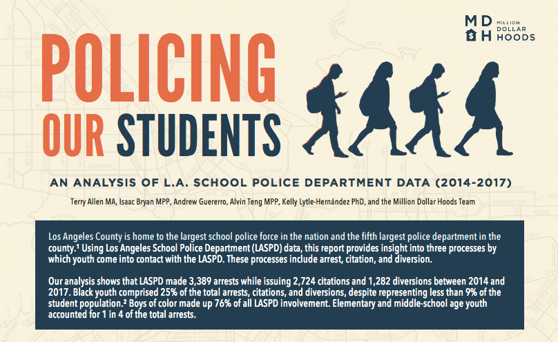 """Policing Our Students"" Report Points to New Directions for School Discipline 